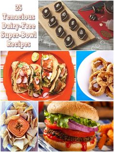 25 Tenacious Dairy-Free Super Bowl Recipes - yes, those are little vegan football ice cream sandwiches! Healthy Superbowl Snacks, Healthy Vegan Snacks, Healthy Recipes, Beef Recipes, Vegetarian Recipes, Drink Recipes, Appetizer Recipes, Appetizers, Dinner Recipes