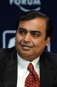 Mukesh Ambani  Net Worth $22.3 B As of March 2012  Follow (268)  At a Glance  Chairman, Reliance Industries  Age: 55  Source of Wealth: Petrochemicals, oil & gas  Residence: Mumbai, India  Country of Citizenship: India  Education: Drop Out, Stanford University; Bachelor of Science in Engineering, University of Bombay  Marital Status: Married  Children: 3  Forbes Lists  #19 Forbes Billionaires  #1 in India  #35 Powerful People