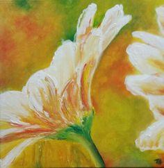 Lente in de bol... acryl schilderij. Paintings, Painting On Fabric, Tejidos, Fabrics, Paint, Painting Art, Painting, Painted Canvas, Drawings