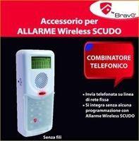 BRAVO COMBINATORE TELEFONICO PER   ALLARME SCUDO immagini