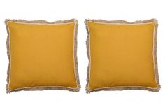S/2 Cascade 20x20 Pillows, Orange on OneKingsLane.com