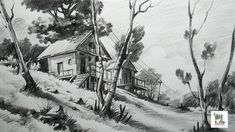 pencil landscape easy drawing beginners draw sketches very basic landscapes drawings sketch scenery shading sketching simple cool strokes topbuzz techniques
