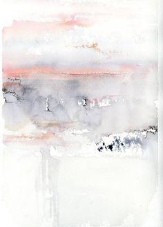 """Saatchi Art Artist Alex Tolstoy; Painting, """"Pink Sky"""" #art"""