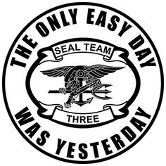 Navy SEAL Team 3 based out of Coronado, California http://proartshirts.com/products/seal-team-3-t-shirt-0880 #seals #navy