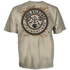 M Chris Kyle Frog Blue Line T-Shirt Navy