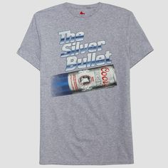 60f4b203f80 Men's Miller Coors Light Short Sleeve Graphic T-Shirt - Athletic Heather L,  Gray