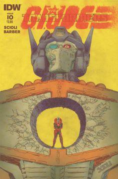 Transformers vs. G.I. Joe #10 - Tom Scioli