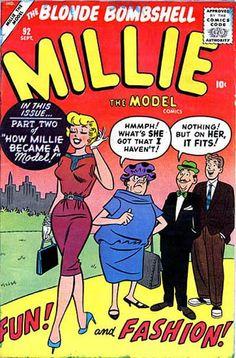 Millie the Model Comic Books