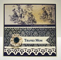 Vintage Thank You from Holly