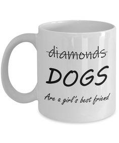 Mans Best Friend, Girls Best Friend, I Love Dogs, Puppy Love, Coffee Is Life, Coffee Zone, Coffee Mugs, Diamond Dogs, Dog Information