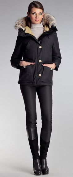 Laval parka Black | Made in Canada | Arctic Bay®
