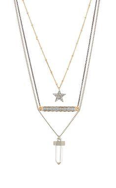 Free Press Jewelry | Pave Ball Layered Necklace