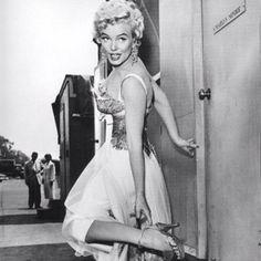 Marilyn Monroe, 1954. #vintage