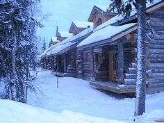 Lapland Cabin Rental: Beautiful Forest Setting In Heart Of Yllas | HomeAway