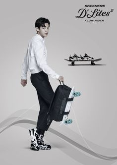 #Chanyeol #EXO Skechers