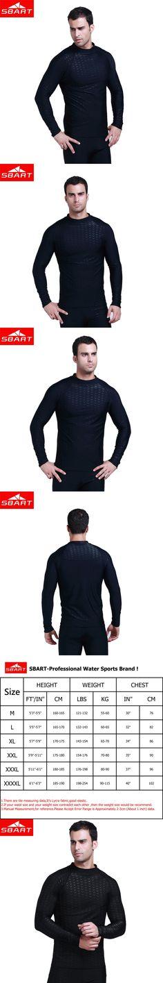 SBART Men Rashguard Swim Shirts Long Sleeve Sunscreen Upf 50 Wetsuit Lycra Top Rash Guard Men Swimwear T-Shirts Sharkskin L702