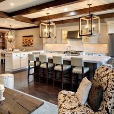 Michigan together with rustic living room and kitchen open floor plan