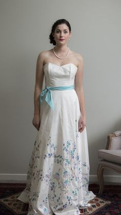 Jacaranda Dress  by Sophie Voon Bridal   Sophie Voon wedding dresses lovingly designed and crafted in our Wellington, New Zealand workroom.
