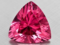 6.89 ct hot pink Tanzanian spinel