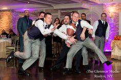 www.glenmarstudio.com #reception #theboys #groom #groomsmen #boyswillbeboys #party #celebrate #weddingday #weddingphotography #longislandweddingphotography #newyorkweddingphotography #glenmarstudio