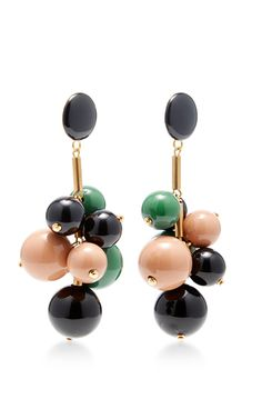 62e5eb6331b These   Marni   earrings feature a beaded cluster in complementary colors  on gold
