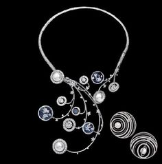 Chanel Fine Jewelry - Elements Celeste Necklace and Earrings