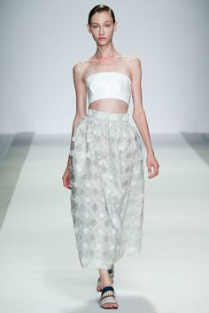 Holly Fulton - Spring RTW 2015