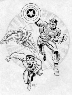The Invaders by Bruce Timm