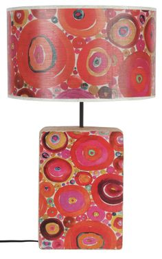 Circles Pattern Lamp by Anna Chandler