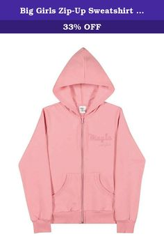 GIRLS L 10 12 PINK HOODED GIRLS RULE SWEATSHIRT HOODIE NWT THE CHILDREN/'S PLACE