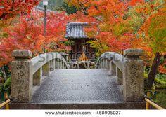 Eikando Zenrinji Temple in Kyoto, Japan - in Colorful Autumn