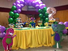 Barney party