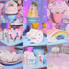 Detalhes.... Simplesmente um sonho de verdade!!! Obrigada @foconaarte... as fotos ficaram perfeitas!!! #festamenina #festalinda #festakids #aniversariomenina #aniversario #festa #festas #festejar #festachuvadeamor #chuvadeamor #aniversario #aniversário #aniversariomenina #aniversarioinfantil #buffet #buffetinfantil #buffetfortaleza #sonhosfestas #sonhosdecoracoes #sonhosfestasbuffet #sonhos #vemsonharcomagente #vemfestejarcomagente #instaparty #kids #kidsideias #encantada #sonhodecriança Rainbow Birthday, Unicorn Birthday Parties, Unicorn Party, First Birthday Parties, Birthday Party Themes, Girl Birthday, First Birthdays, Cloud Party, Star Party