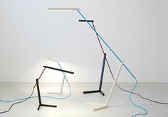 design d'objet, lampe design, luminaire, LED, lampe de bureau