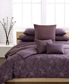 Calvin Klein Prune Elm 3 Pc Queen Comforter Shams Set Plum Purple Bedding C396 Purple Bedding Comforter Sets King Duvet Cover Sets