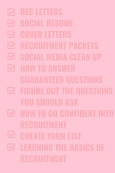 The Ultimate Guide to Sorority Recruitment Ebook Recruitment Questions, Sorority Recruitment Tips, Sorority Rush Week, Sorority Recruitment Outfits, College Sorority, Sorority Life, Panhellenic Recruitment, Sorority Canvas, Sorority Paddles