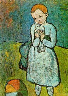 Kind met de duif - Picasso