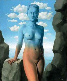 René Magritte - La Magie Noire, 1942