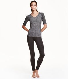 Seamless Yogatights | Product Detail | H&M