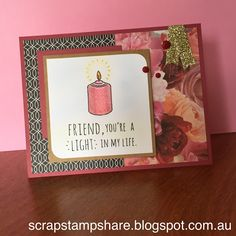 Candlelight Garden Stamp of the Month