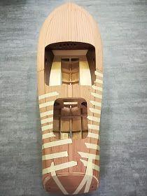 Modellisto-Blog: RIVA Ariston - Teil 5 - Hauptbeplankung Scale Model Ships, Scale Models, Wooden Boat Kits, Model Boat Plans, Diy Boat, Wood Boats, Water Toys, Boat Building, Custom Wood