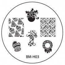 Bundle Monster Image Plate BM-H03 (2013 Holiday Collection)