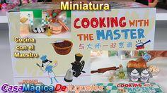 Orcara Diminuto Set Cocinando con El Maestro Unbox Parte 1 Orcara Cookin...