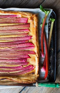 This Rhubarb & Orange Frangipane Galette. And I'm about to brave the rain and harvest a bundle of… Delicious Desserts, Dessert Recipes, Cake Recipes, Galette Recipe, Roasted Strawberries, Rhubarb Recipes, Brunch Menu, Spring Recipes, Kitchens