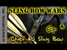 Chief AJ's HFX Slingshot - REVIEW - Ep. 4 - Grizzly Bear Killing Surviva...