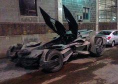 New Batmobile captured near Detroit set