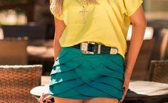 Look verde e amarelo para torcer pelo Brasil - Site de Beleza e Moda
