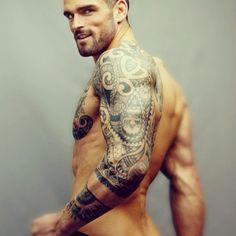 Men like this exist apparently. *faints* - I love that comment! Stuart Reardon looking good.