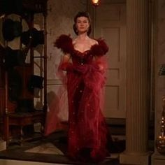 Gone With The Wind. Rhett cracks me up when he makes her wear that ho strut dress.