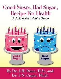 Good Sugar, Bad Sugar, Recipe for Health Bad Sugar, No Sugar Foods, Your Recipe, Shopping Hacks, The Book, Store 3, Itunes, Health, Cancer
